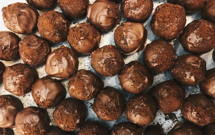 αγίου βαλεντίνου συνταγή σοκολατάκια αβοκάντο