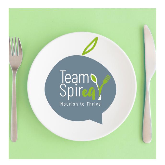 logo TeamSpirEat Ομαδικό Πρόγραμμα Διατροφής Μαρία Μπασκίνη