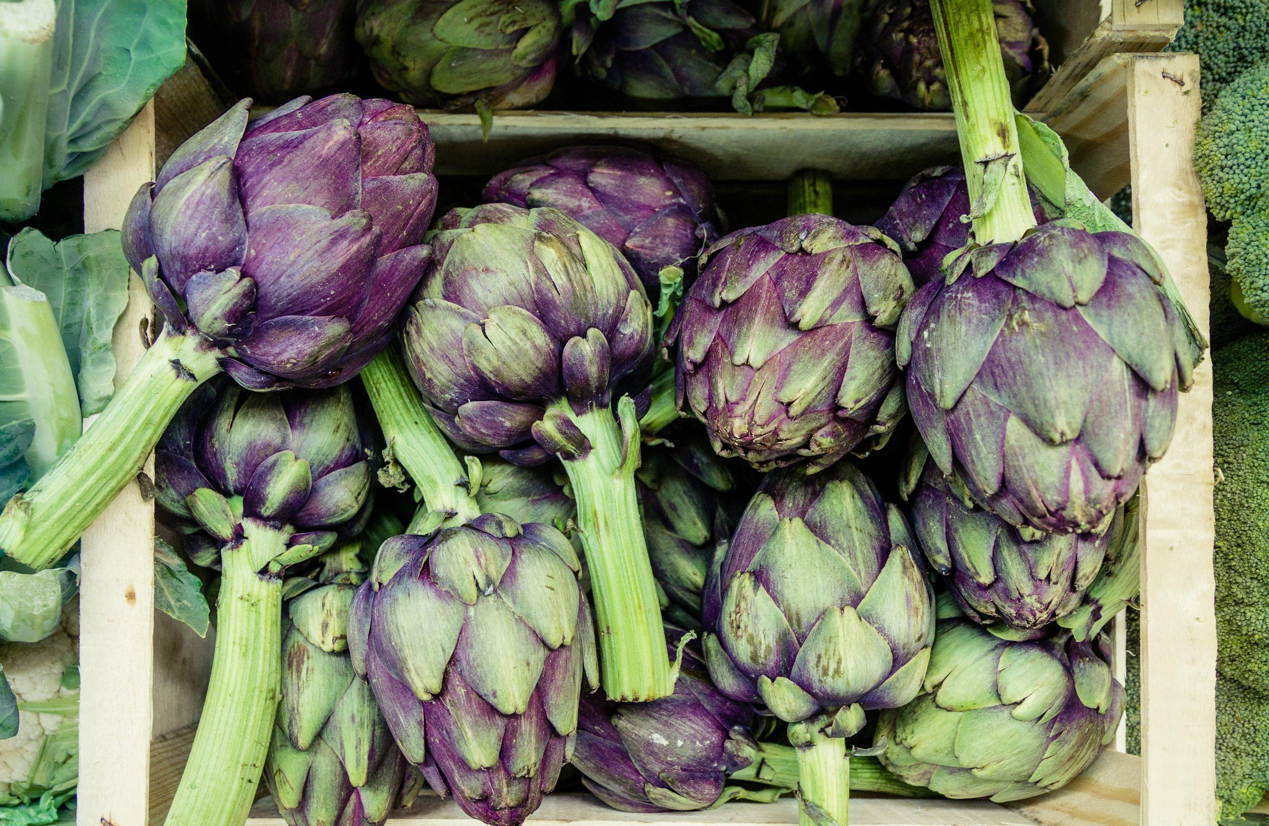 αγκινάρα λαχανικά άνοιξη