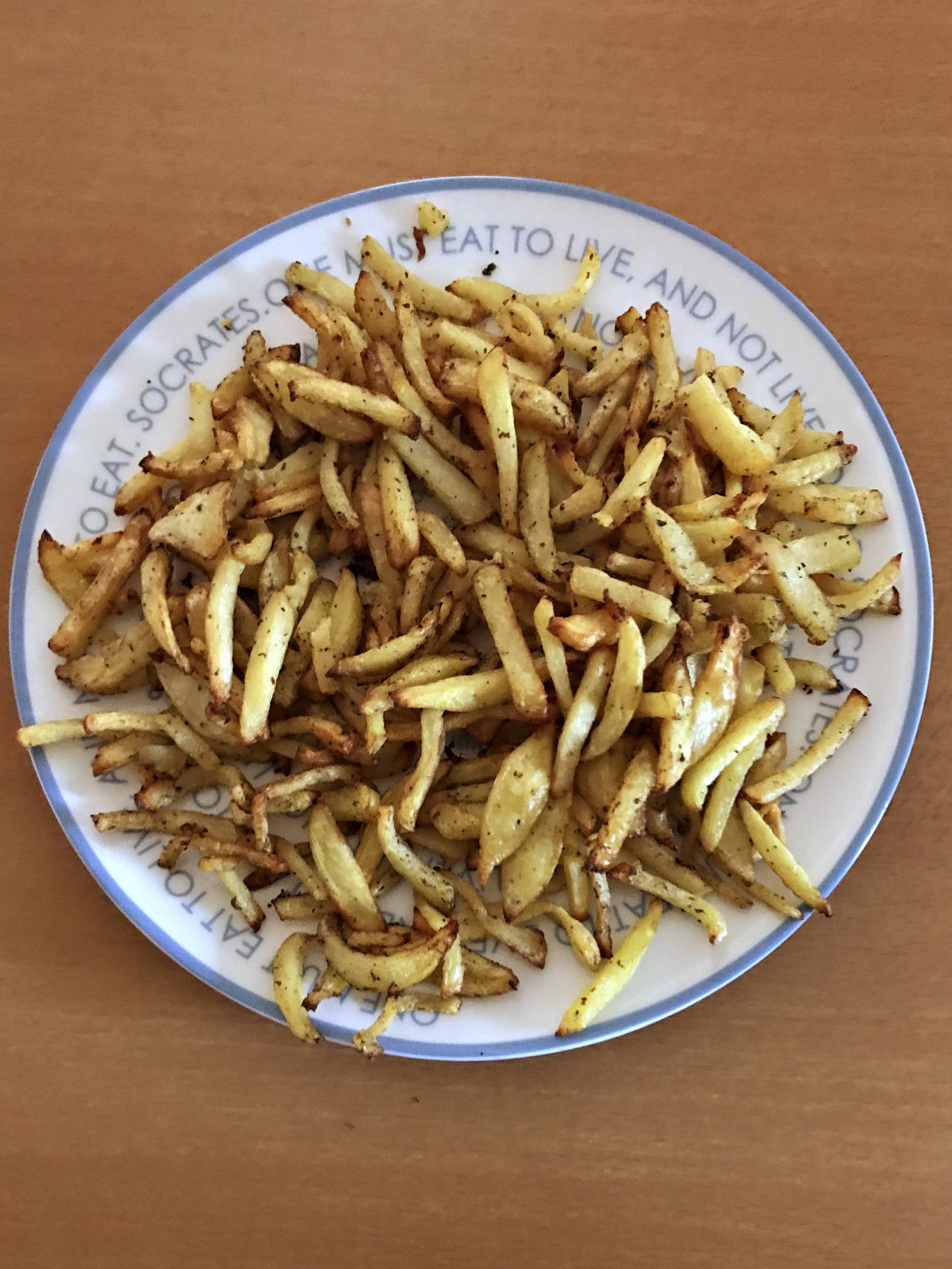 «τηγανιτές» πατάτες