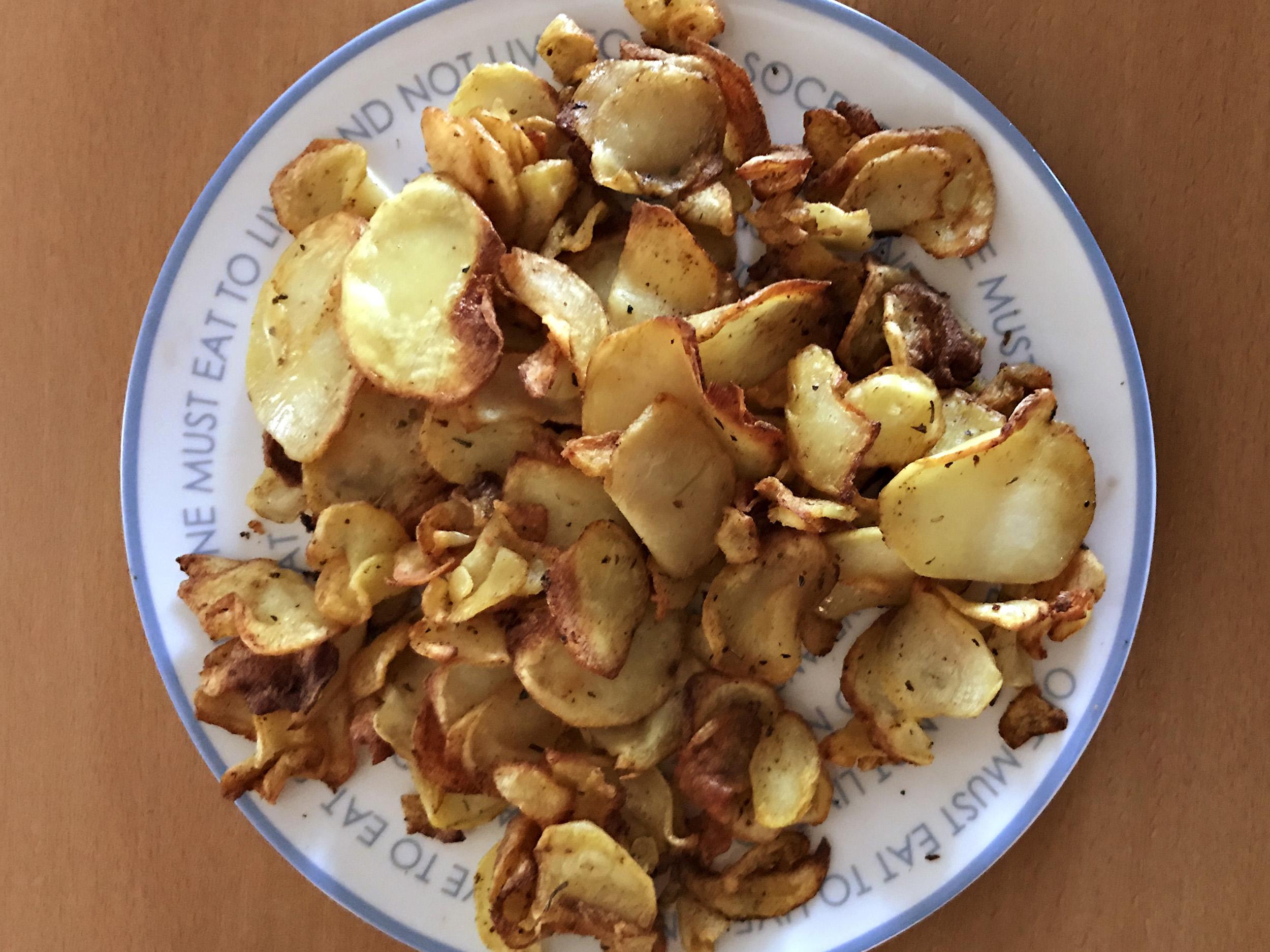 «τηγανητές» πατάτες