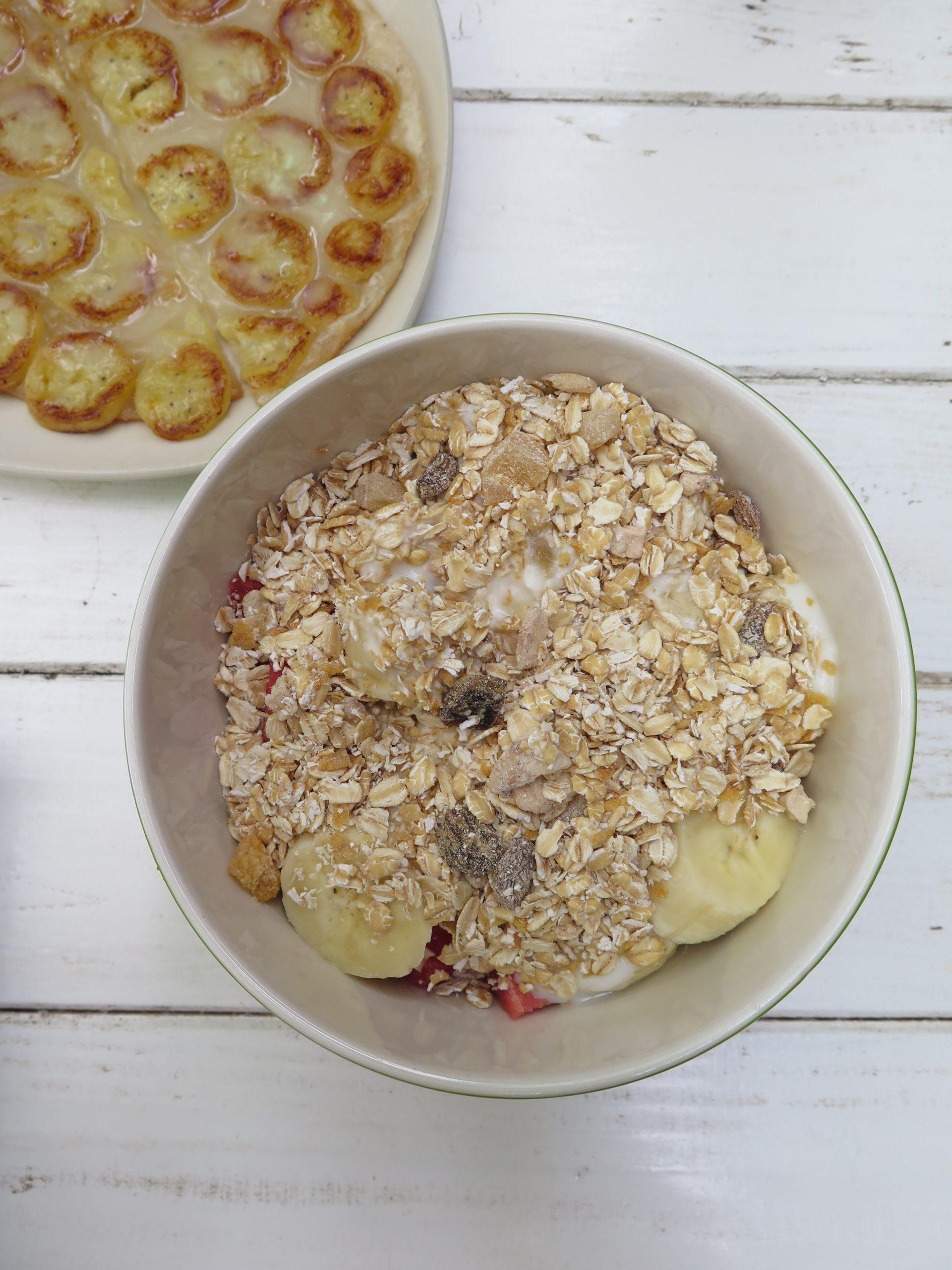 overnight oats πρωινο με βρωμη