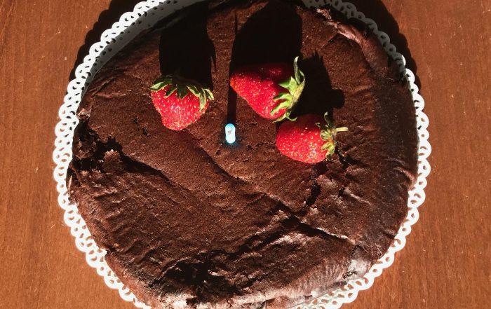 Σοκολατένιο fudge κέικ
