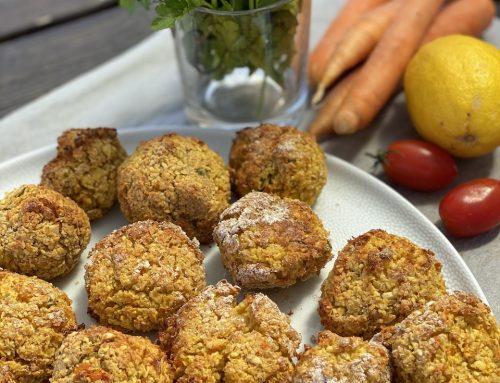Συνταγή | Ρεβυθοκεφτέδες (αντί για φαλάφελ!) (Vegan)