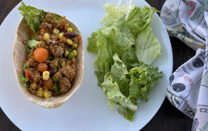 κιμάς στο τηγάνι μεξικάνικο συνταγή μπασκίνη