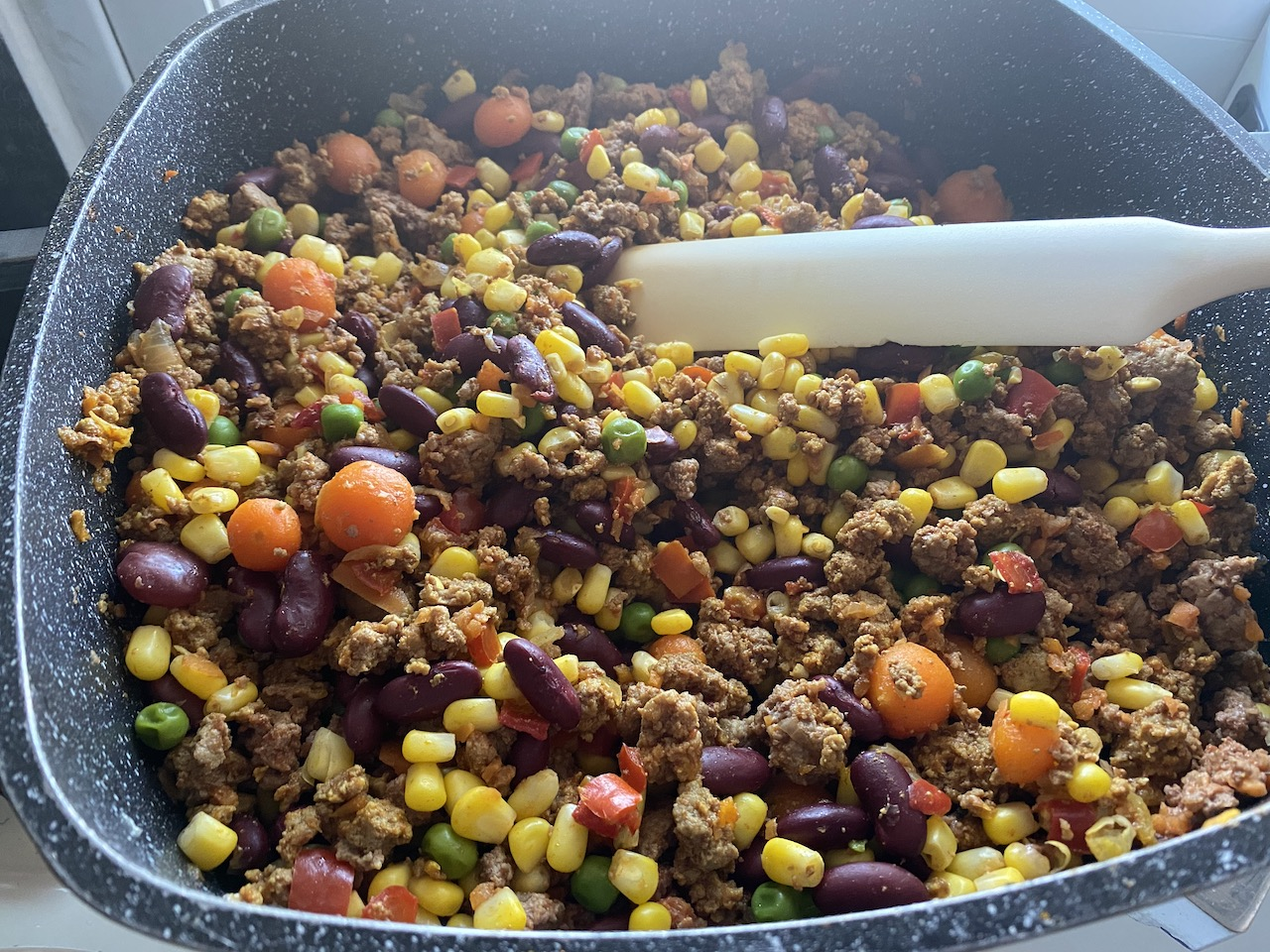 κιμάς στο τηγάνι μεξικάνικο συνταγή