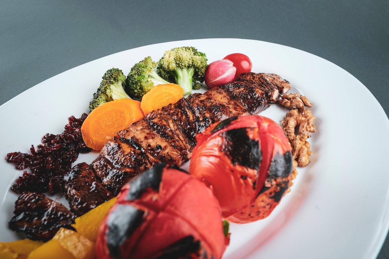 ψαρονέφρι με λαχανικά