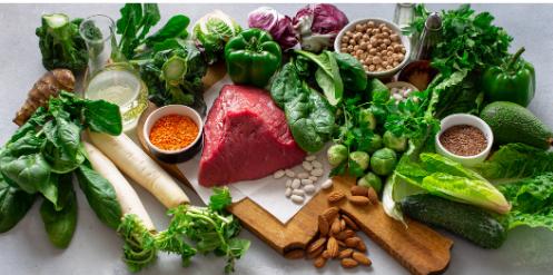 σωστή διατροφή φρούτα λαχανικά ωμά