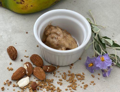 Παγωτό μπανάνα-μόκα χαμηλών θερμίδων (low kcal!)