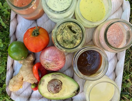 Δροσερά dressings για Σαλάτες