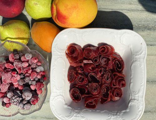 Πέτσα φρούτων!